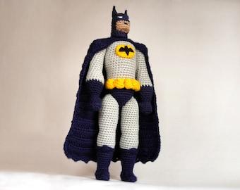 Batman Amigurumi Crochet Doll Pattern | Etsy | 270x340