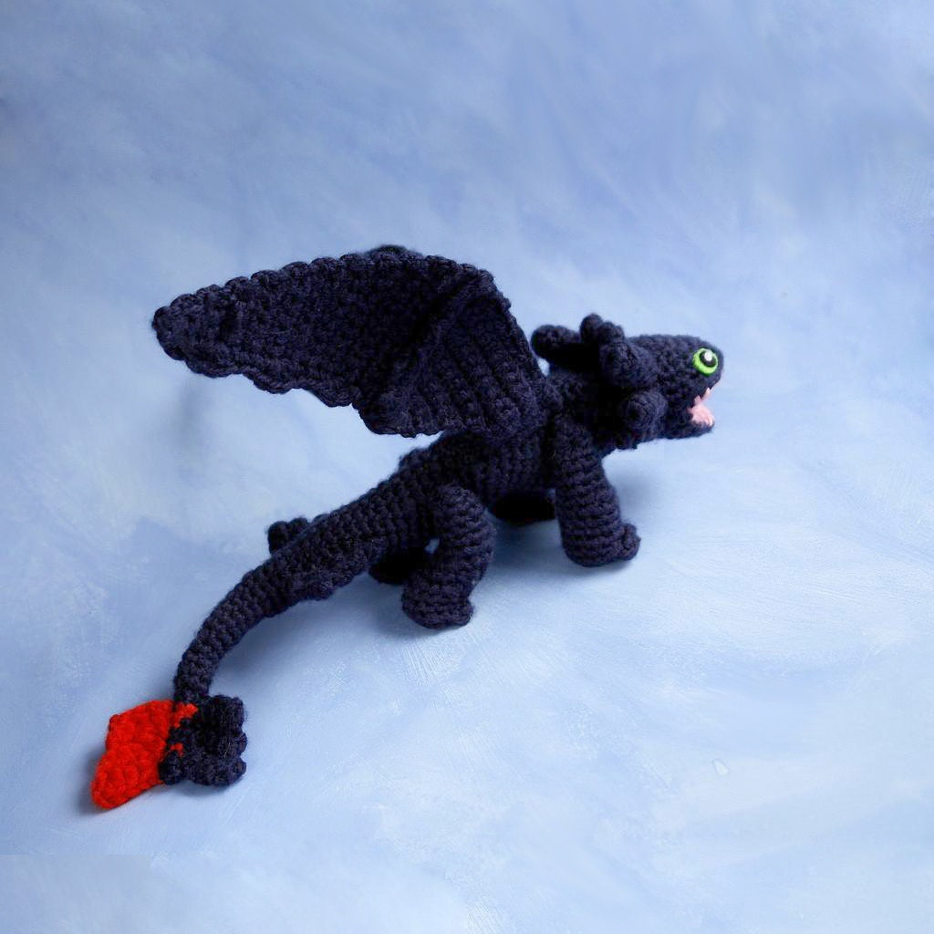 Magnificent Crochet Toothless Pattern Model - Great Sewing Ideas ...