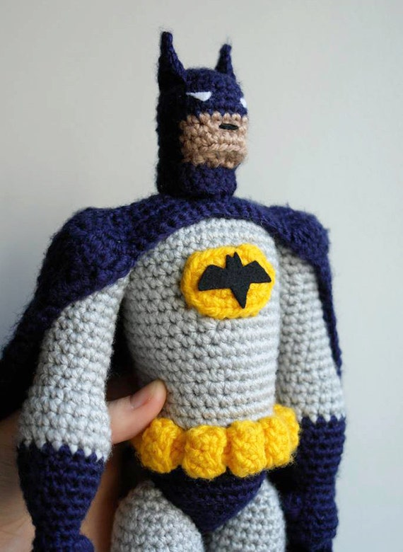 Amigurumi Pattern For Batman Etsy