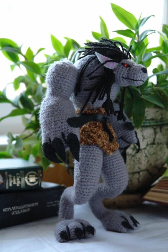 Crochet amigurumi pattern for Minotaur gamer crochet | Etsy | 855x570