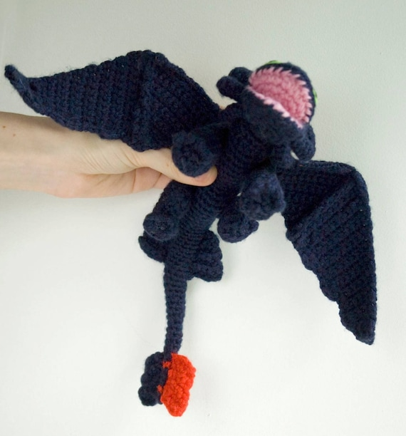 Dragon Crochet Pattern Etsy