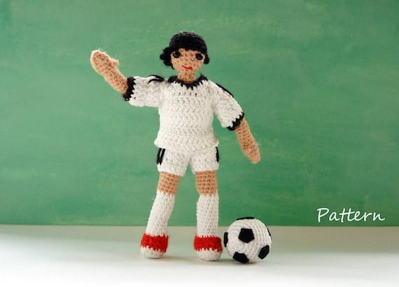 Harvey- Crochet Amigurumi Boy Doll Pattern - PDF download ... | 411x570