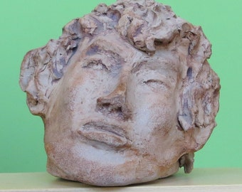 Very Detailed 1960's Sculpture Bust By David Flesvig