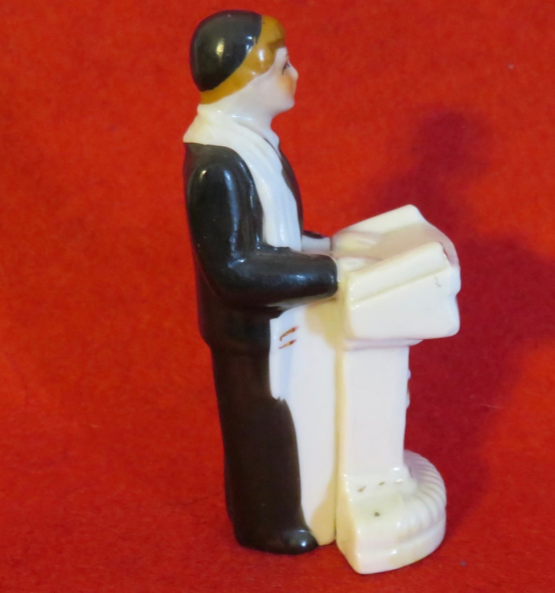 Vintage 1950/'s Jewish Boy Bar Mitzvah Figurine Made In Japan