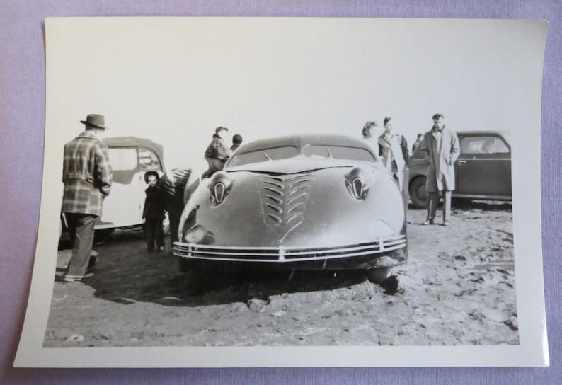Phantom Corsair Vintage 1940/'s Prototype Automobile at Custom /& Classic Car Show Snapshot Photo Free Shipping