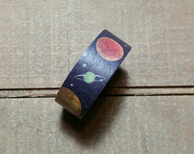 Planet Space Washi Tape Roll