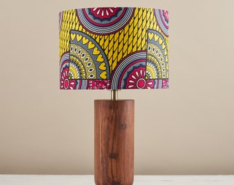 African Inspired: Lampshades Pillows