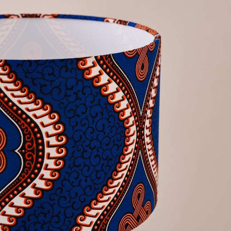 Alluminio tamburo stampa cera africana geometrico modello di 1WWKWjQa