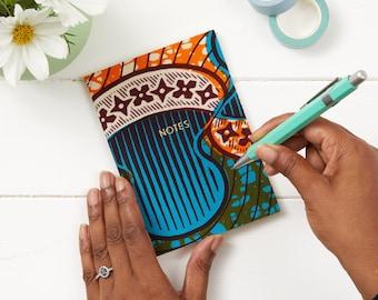 Handwriting journal - gratitude journal - cute writing journal - journaling - travellers notebooks - travellers notebook - Blue Orange disc