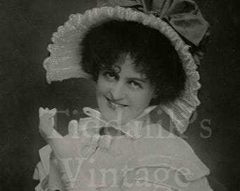 Miss Marie Studholme Edwardian Actress RPPC Postcard - Angus Thomas Ltd. - Postmarked - Antique Postcard