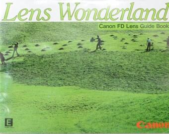 Lens Wonderland Canon FD Lens Guide Book