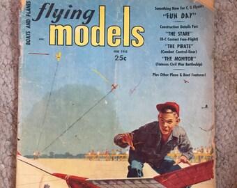 Flying Models Magazine, June, 1955