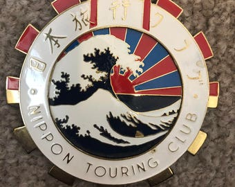 Automobile Club Badge, Nippon Touring Club