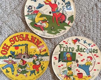 Vintage Children's Records