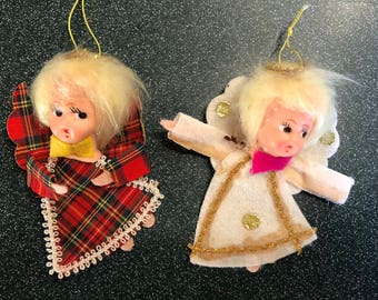 Vintage Angel ornaments from Japan