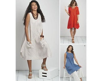 eb1341c17eb Sewing Pattern for Misses  and Women s Dress or Tunic