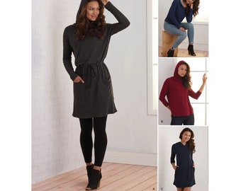 aa355a1e5634 Simplicity Sewing Pattern 8790 Misses  Knit Dresses and Tunics - New Winter  2018 Collection