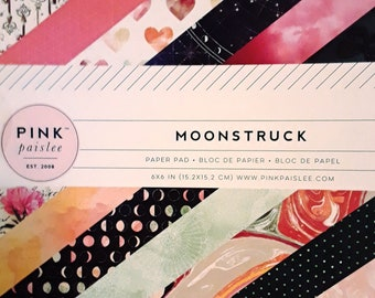MOONSTRUCK Single Sided Paper Pad Scrapbooking & Paper Craft Supplies