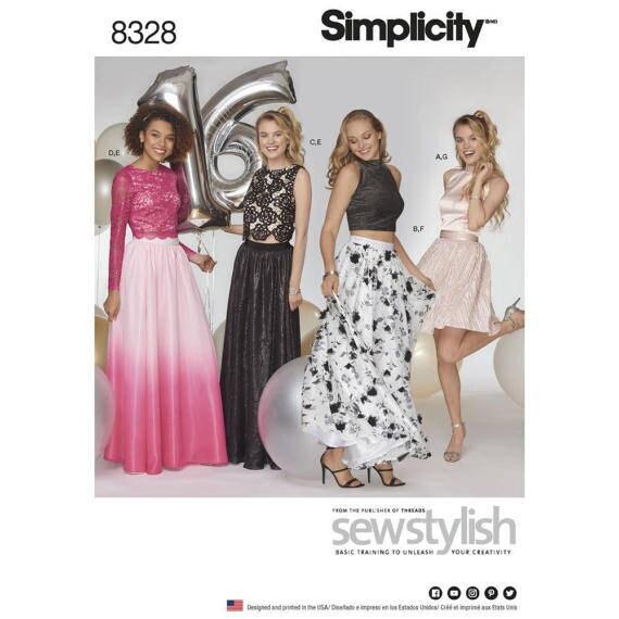 Simplicity Prom Dress