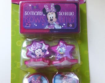 Minnie Mouse Daisy Disney Rubber Stamp Set With Ink Pad Scrapbooking And Paper Craft Supplies