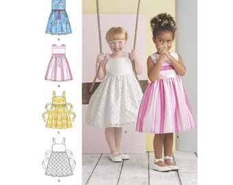 Simplicity Sewing Pattern 8351 Child's Dress