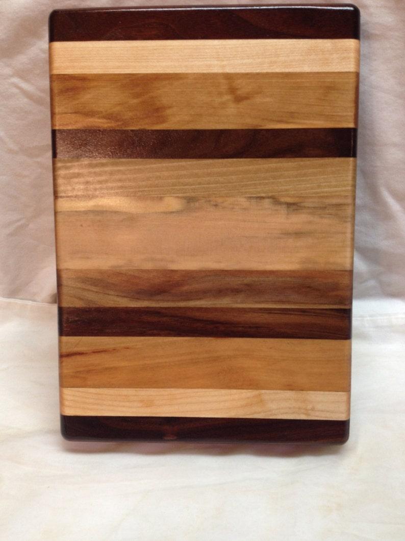 Hand Laid Hardwood Cuttingboard B1