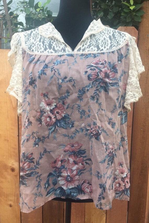 Victorian boho Gunne Sax blouse. Vintage 11