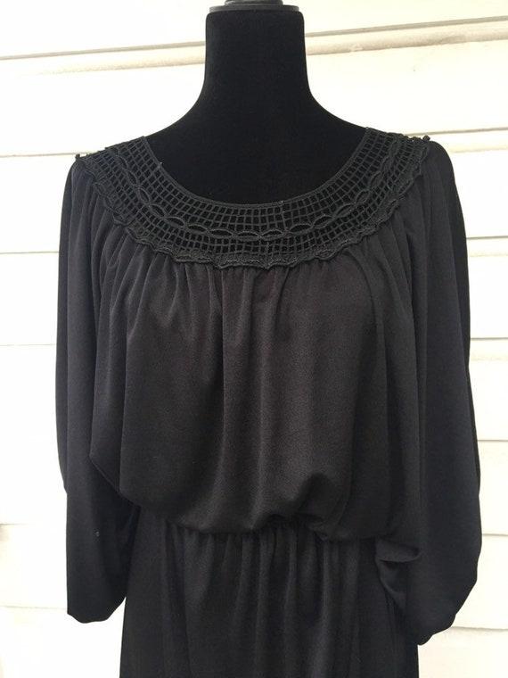 Witchy black dress
