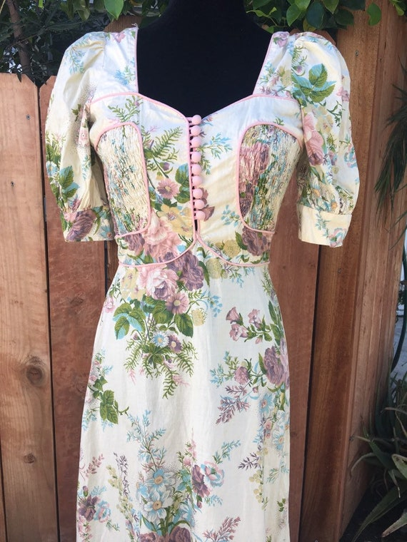 Gorgeous bohemian floral Young Innocent maxi dress