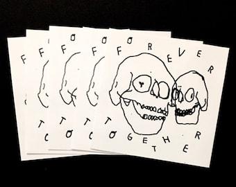 Forever Together Sticker