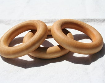Wooden Ring - Set of Three - Essential Montessori
