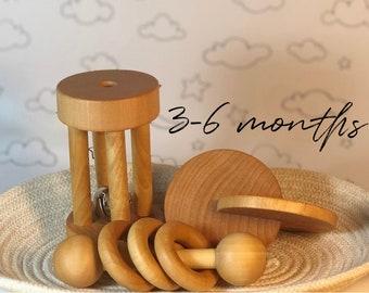 3-6 Months Bundle of Essential Montessori Materials