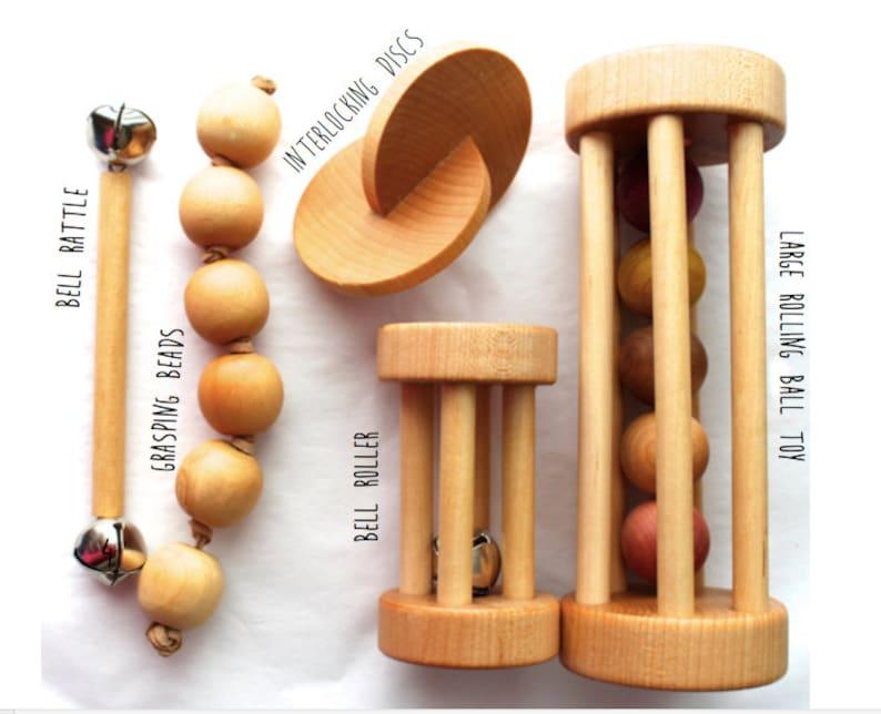 Essential Montessori Baby Shower Gift Set  Five Pack image 0