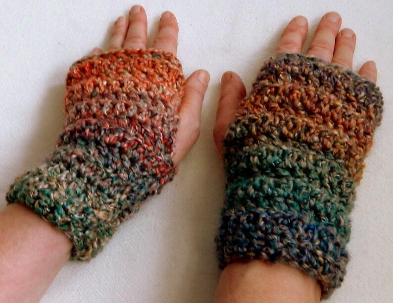 Crocheted Fingerless Gloves Crocheted Driving Gloves Blue Driving Gloves Blue Fingerless Gloves Turquoise Fingerless Gloves