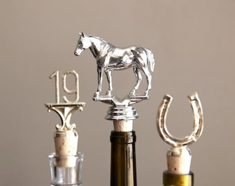 Stocking Stuffer - Number 19 - Vintage Trophy Cork Wine Bottle Stopper