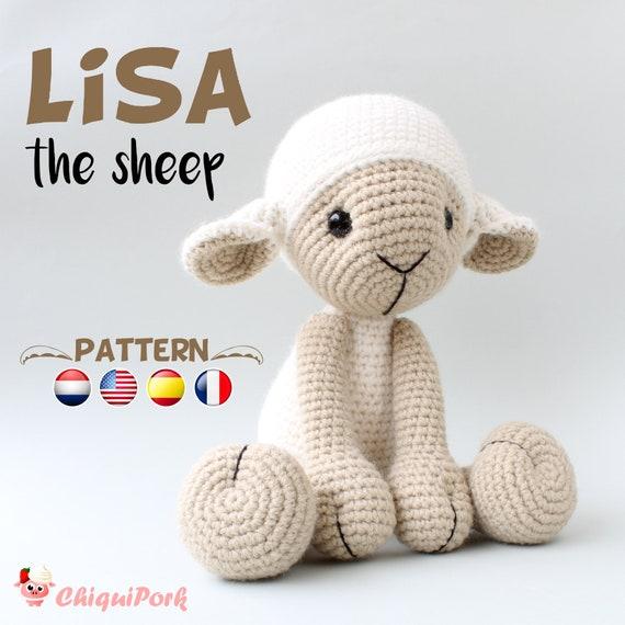 Patrón crochet Oveja LISA la oveja Amigurumi pdf tutorial | Etsy
