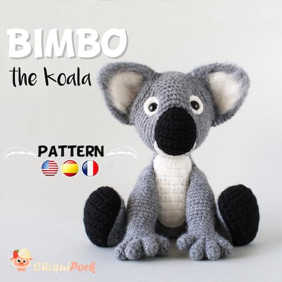 Patrón crochet Koala Amigurumi pdf tutorial BIMBO el Koala | Etsy