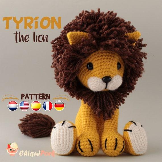 Tiny lion amigurumi pattern - Amigurumi Today | 570x570