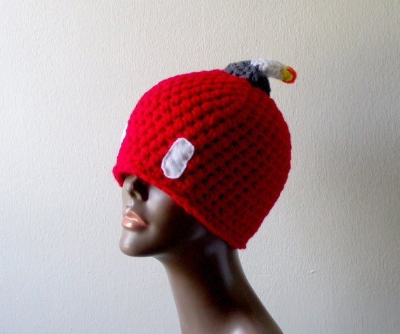 Crochet Cherry Bobomb Hat Crochet Super Mario Bros Inspired  c8b6913833a