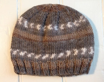 Baby Boy Ribbed Hat - Infant Size