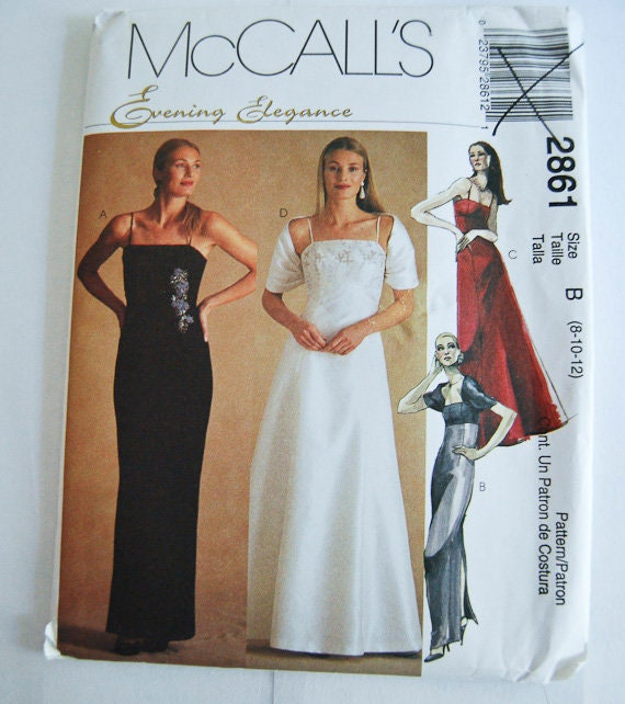 McCall/'s 2892 Misses/'//Miss Petite Dresses     Sewing Pattern