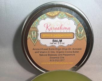 ARNICA Balm All Natural Pain Relief Balm, Sore Muscle Balm, Arnica Balm, Arnica Rub, Healing Salve, Herbal Balm, Bumps & Bruise Balm