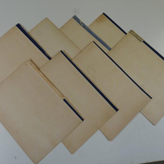 50 sheets single sided with age-toning /& foxing A3 ANTIQUE EFFECT plain paper