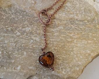 Copper Hearts Pendant
