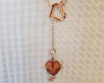 Spun Heart Pendant