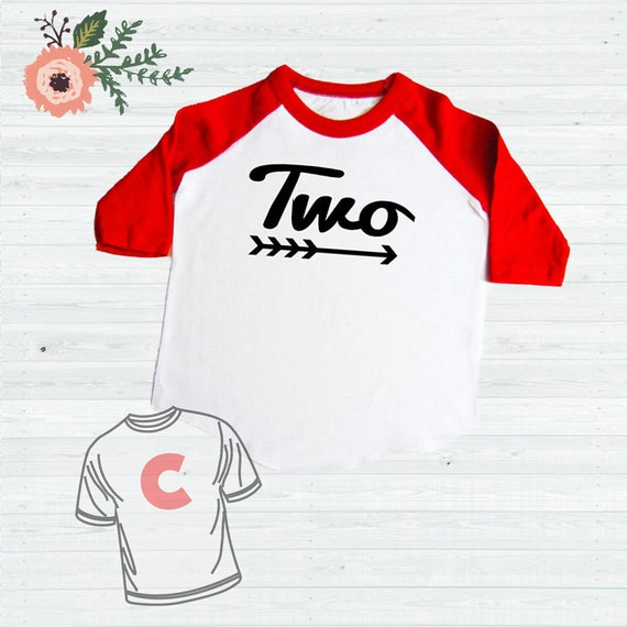 2 Year Old Birthday Shirt 2nd Baseball