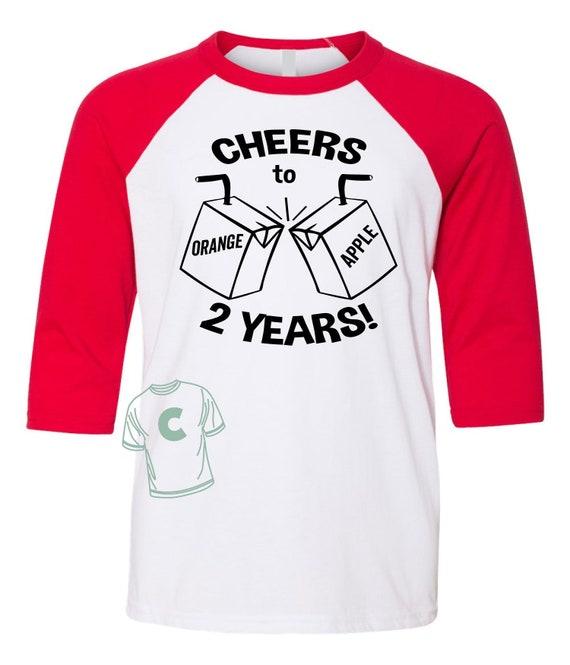 2 Year Old Gift Birthday Shirt Girl Boy Turning Two Years