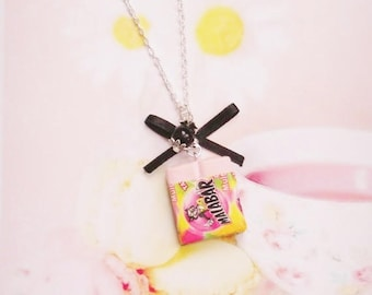 necklace kawaii sweet chewing gum polymer clay