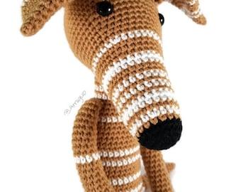 Greyhound Teddy