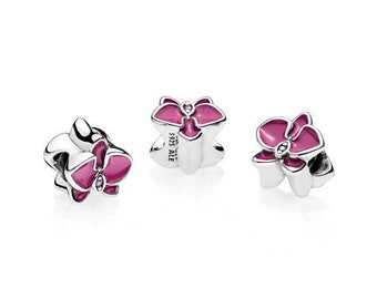 4fd771d45 Clearance Authentic Pandora Purple Orchid Charm